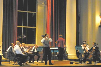 Flutist Wissam Boustany, London 2003