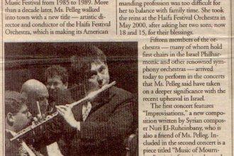 Baltimore Times - Deborah Walike  2001