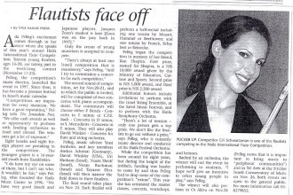 Jerusalem post – Sarah Peress 2005