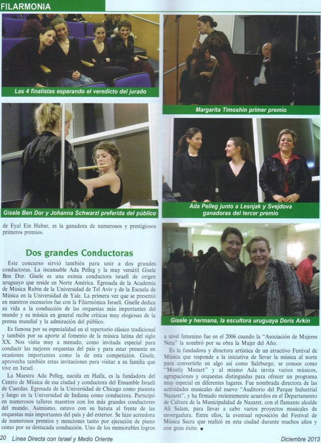 Exito concurso Internacional de Flauta ...